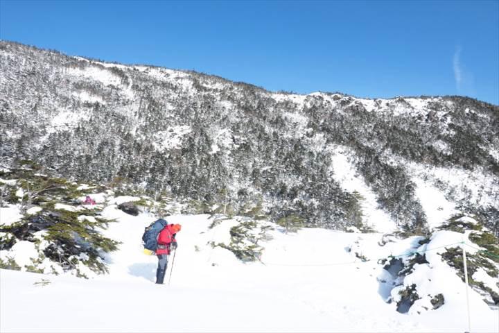 北横岳登山口