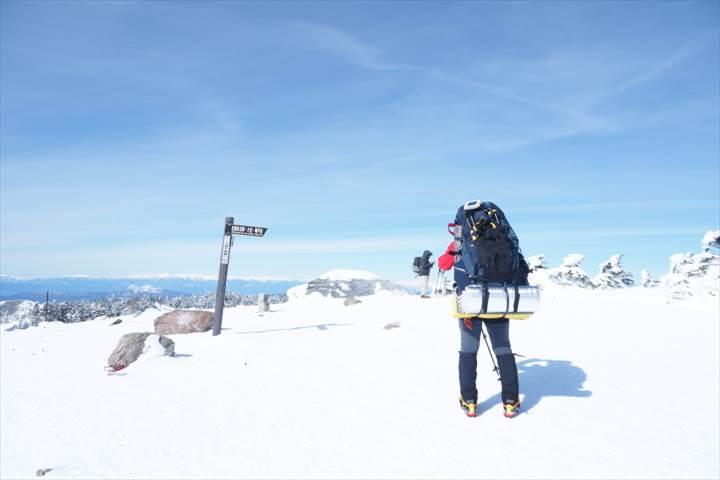北横岳山頂(南峰)