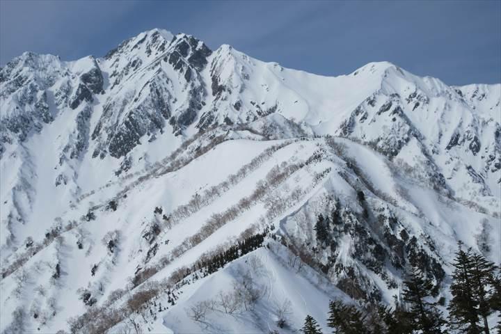 五竜岳と白岳