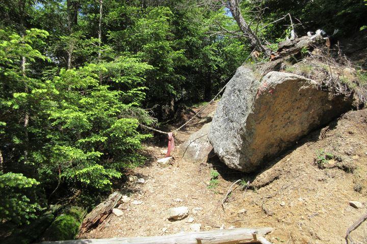 一般登山道合流点