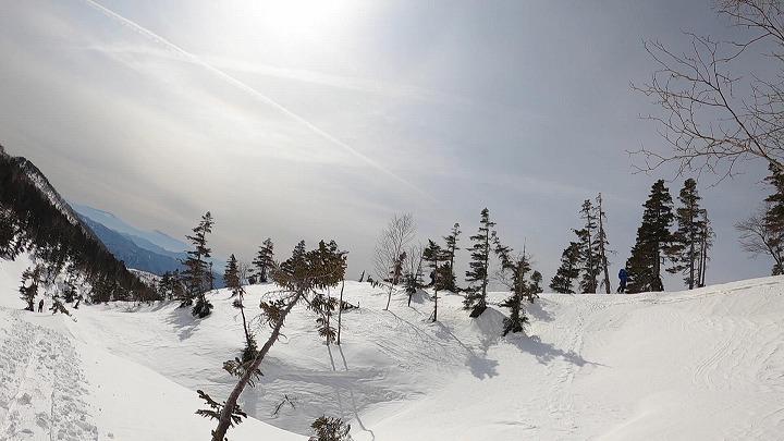 白馬乗鞍岳冬道2