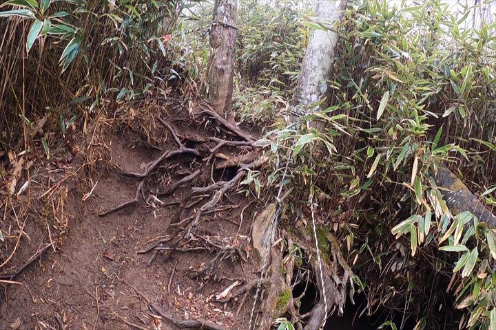 石割山登山道2